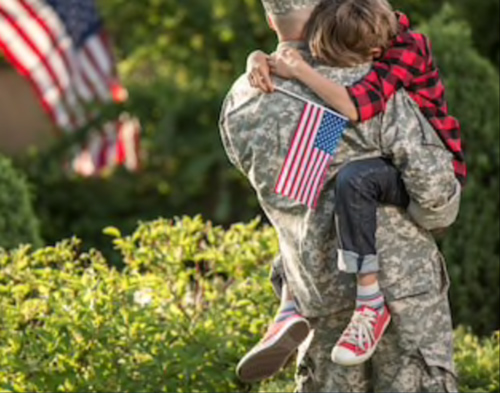 Soldier-hugging-his-son-image